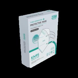 KN95 Mask (10 mask box) CE Certified.